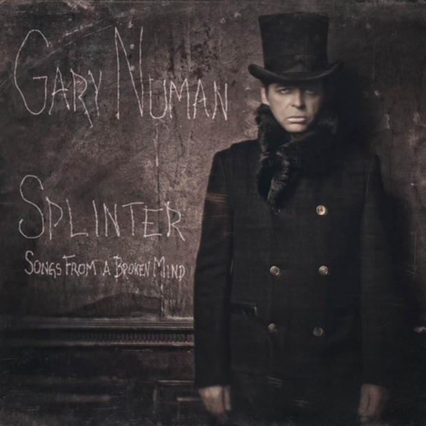Gary Numan - 'Splinter' album cover