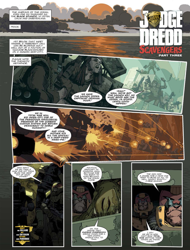 Judge Dredd 'Scavengers'