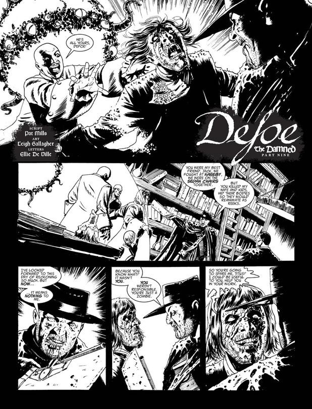 Defoe 'The Damned'