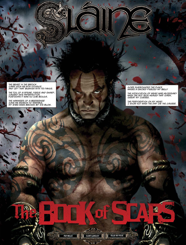 Slaine 'The Book of Scars'