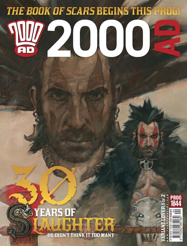 2000 AD Prog 1844 cover