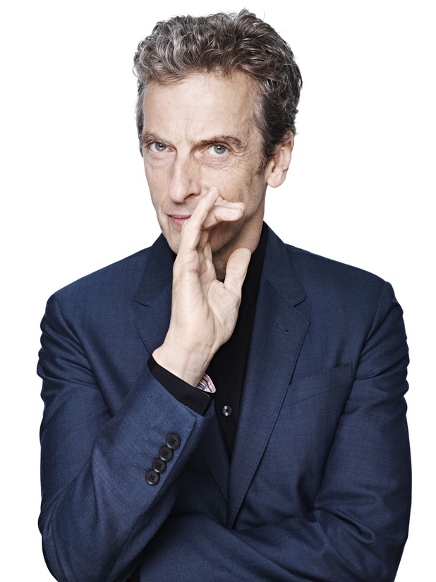Peter Capaldi ~~ Official BBC 'Doctor Who' portrait by Rankin