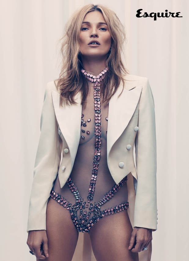 Kate Moss in Esquire magazine