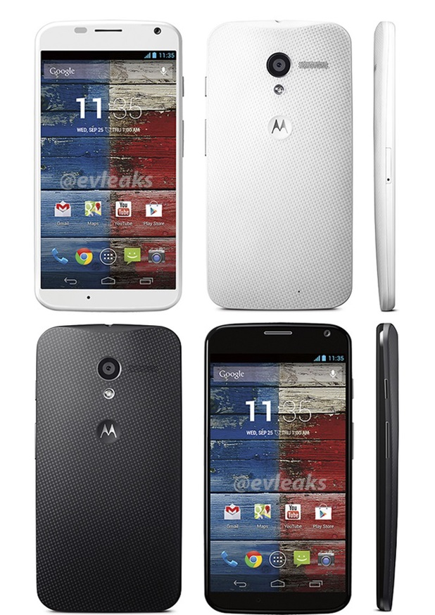 Leaked photo of the Motorola Moto X