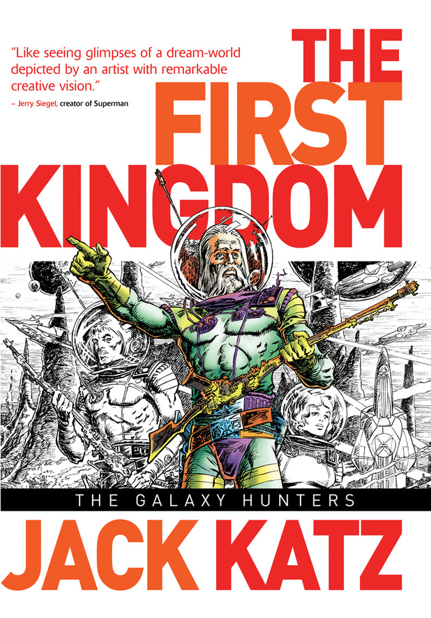 The First Kingdom vol 2: The Galaxy Hunters cover