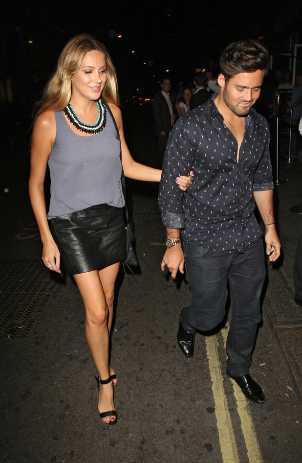 Stephanie Pratt and Spencer Matthews