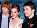 """Harry Potter author adds that Ron needs to """"work on his self-esteem issue""""."""