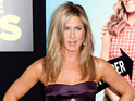 Jennifer Aniston smoulders in strapless dress at We're the Millers premiere.