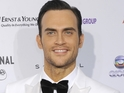 Cheyenne Jackson praises Alec Baldwin's talent, but recalls odd set experience.