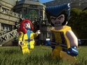 Jean Grey and Silver Samurai also feature in the new LEGO Marvel screens.