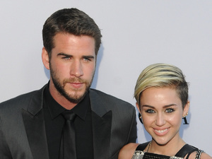 US premiere of PARANOIA Liam Hemsworth, Miley Cyrus
