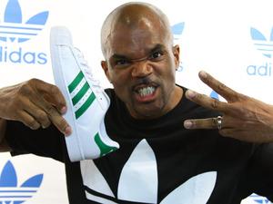Darryl 'DMC' McDaniels promotes adidas Originals