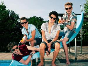 The Vamps press shot 2013.