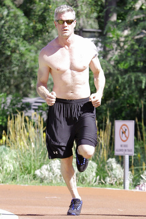 Eric Dane out and about, Los Angeles, America