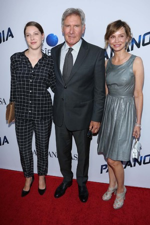 Georgia Ford, Harrison Ford, Calista Flockhart, Paranoia premiere