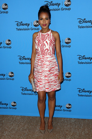 Kerry Washington, Disney & ABC TCA summer press tour held at Beverly Hilton Hotel