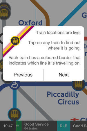 Tube Map Live