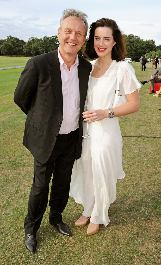 Anthony Head and Michelle Ryan