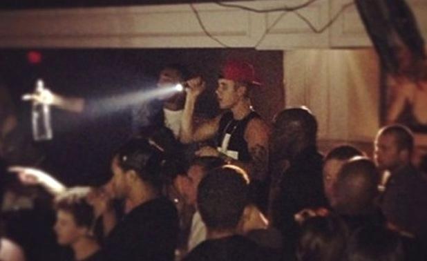 Justin Bieber, torch