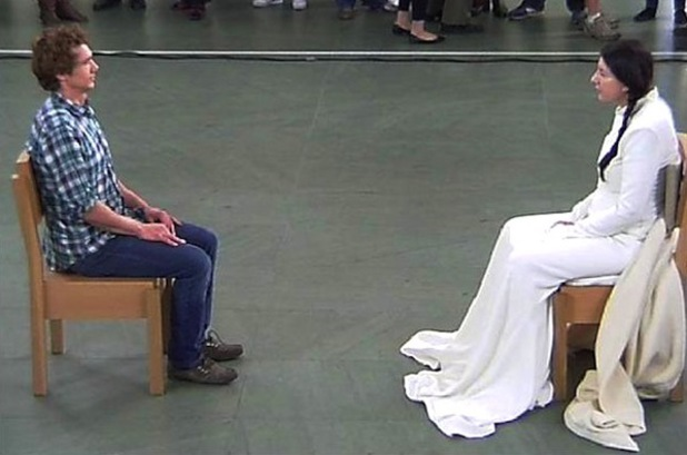 Marina Abramović, James Franco