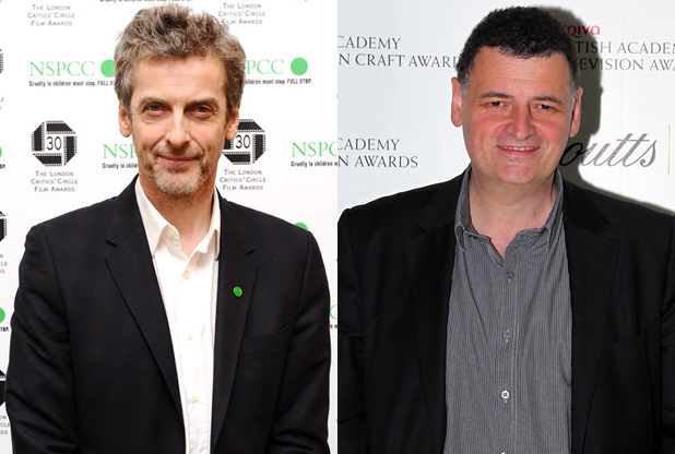 Peter Capaldi and Steven Moffat