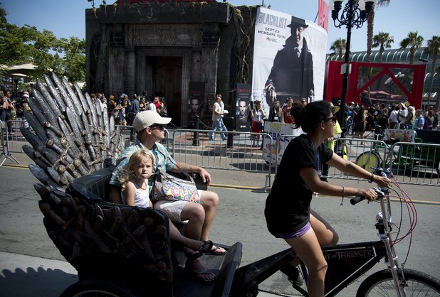 'Game of Thrones' rickshaw
