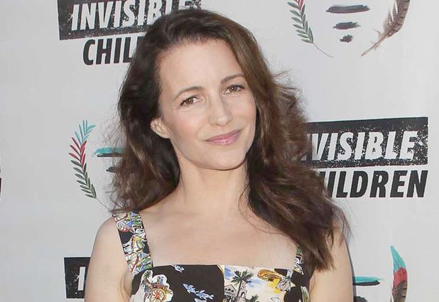 Kristin Davis attends the Founders Party For The Invisible Children's 4th Estate Leadership Summit in Los Angeles.