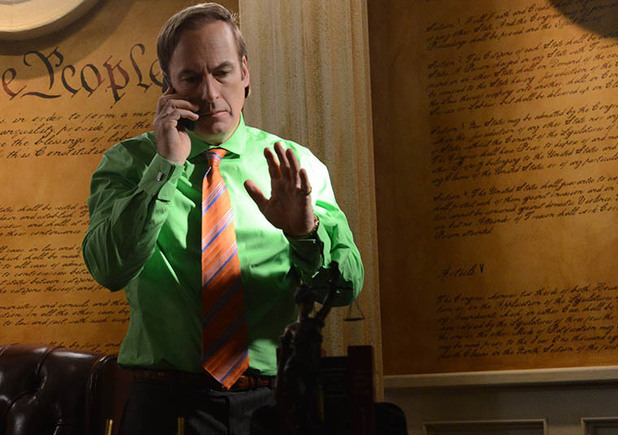 Saul Goodman (Bob Odenkirk) in Breaking Bad S05E09