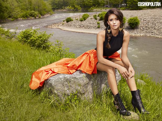 Nina Dobrev for Cosmopolitan