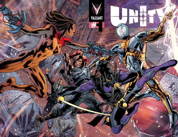 Bryan Hitch 'Unity #1 variant