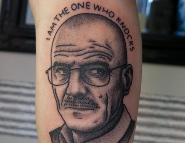 Walter White portrait