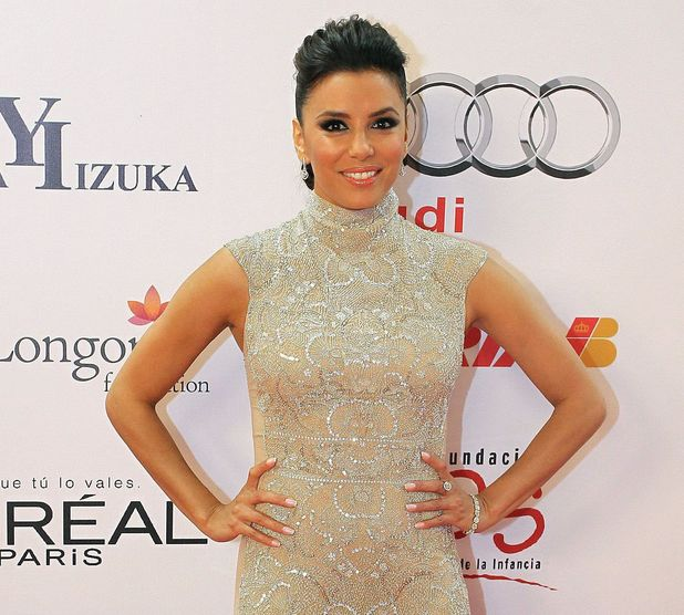 Global Gift Celebrity Golf Tournament Gala, Marbella, Spain - 04 Aug 2013 Eva Longoria 4 Aug 2013