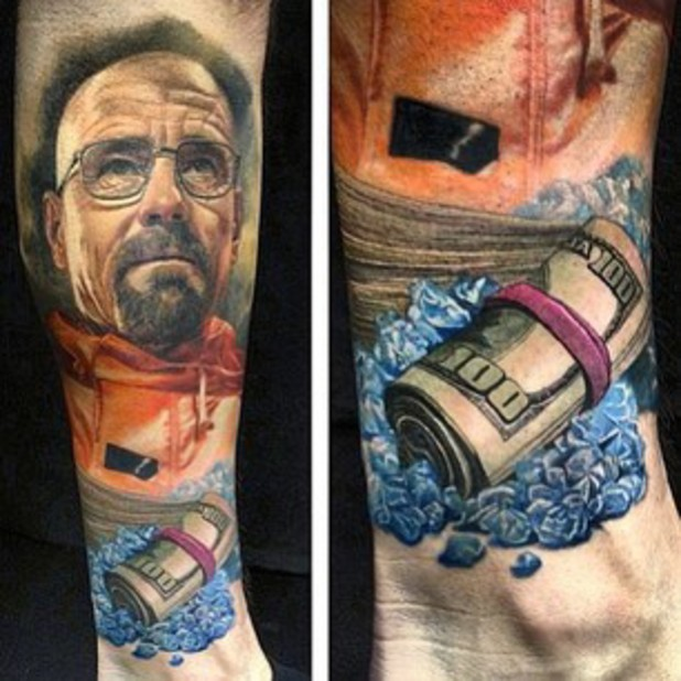 'Breaking Bad' fan tattoo