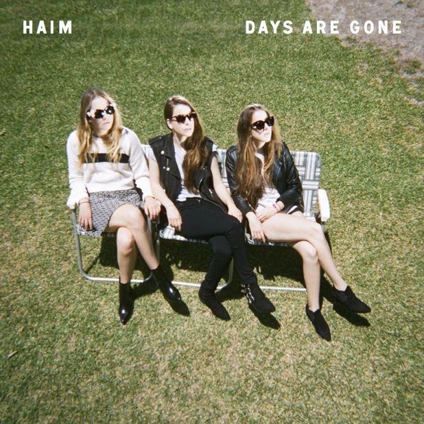 Haim 'Days Are Gone' artwork