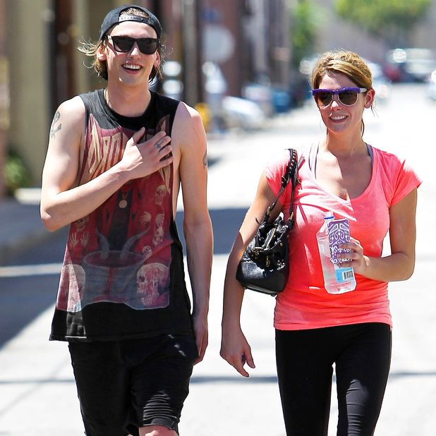 Ashley Greene and Jamie Campbell Bower