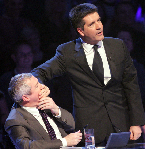 Louis Walsh, Simon Cowell, 'The X Factor' TV Programme, London, Britain - 25 Nov 2006 Louis Walsh and Simon Cowell 25 Nov 2006