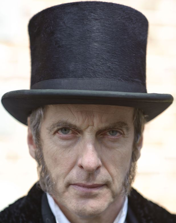 Peter Capaldi as Samuel Kent in 'The Suspicions of Mr Whicher'