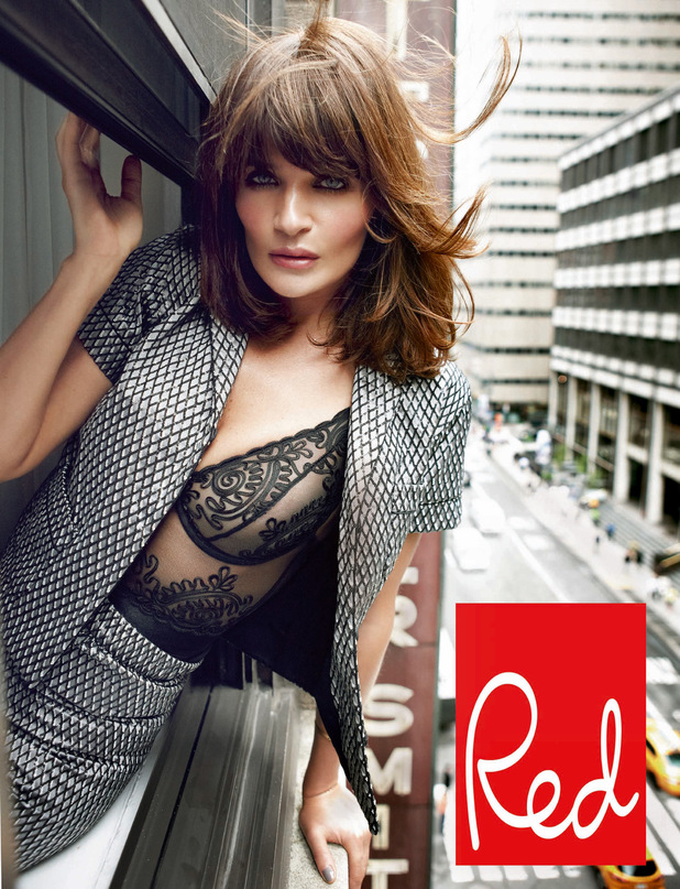 Helena Christensen in Red magazine