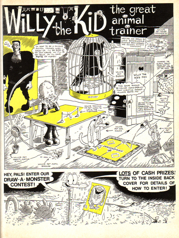 Leo Baxendale's 'Willy the Kid'