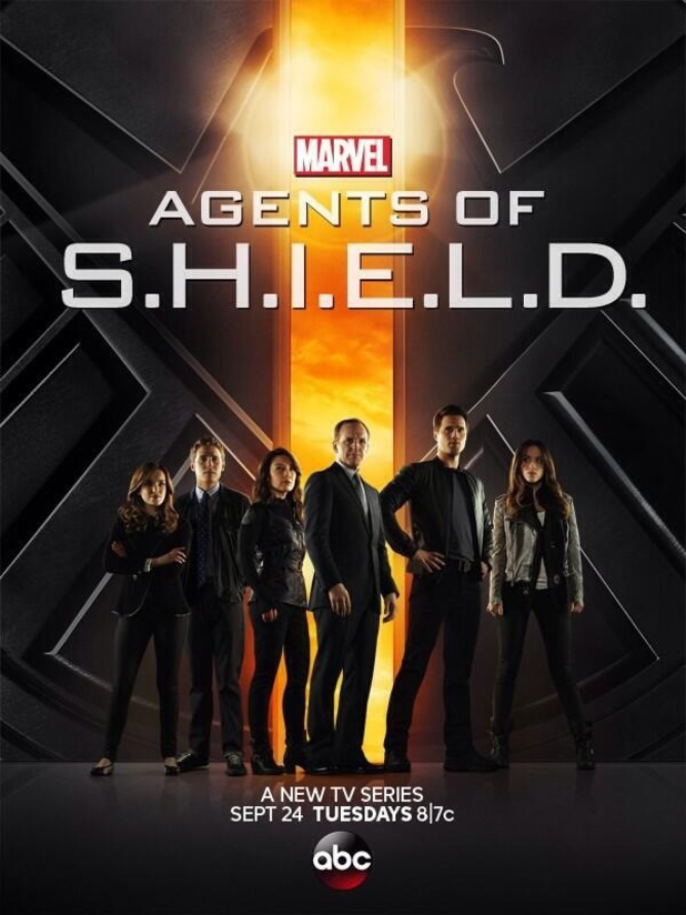 marvels agents of shield Marvels Agents of S.H.E.I.L.D. Official Poster
