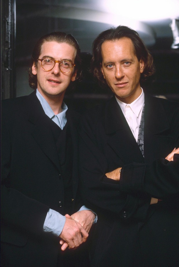 Peter Capaldi with Richard E Grant