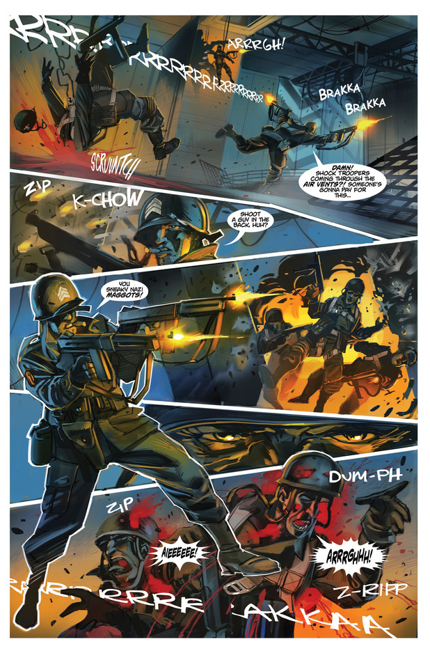 'Chronos Commandos' #2 page 1 preview