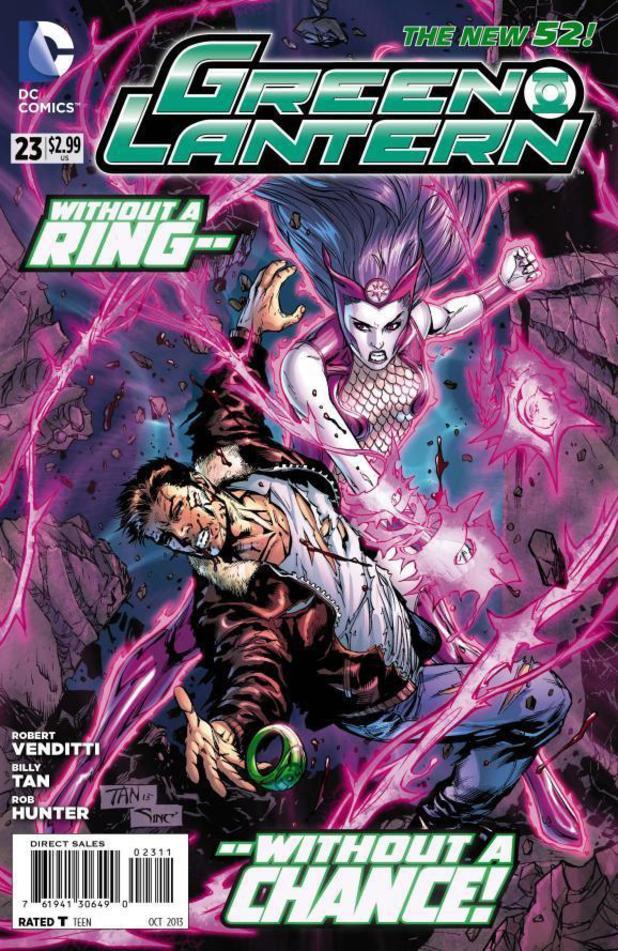Green Lantern #23 cover
