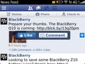 Version 10.2.1 of the software adds Facebook chat, quicker scrolling and more.