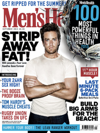 Men's Health September issue