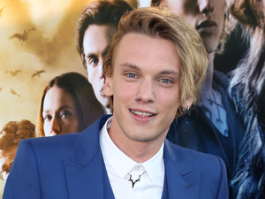 Jamie Campbell Bower, 'The Mortal Instruments: City Of Bones' LA premiere at ArcLight Cinemas