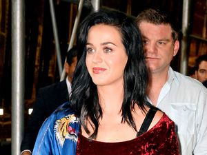 Katy Perry at Sirius XM Hits1, New York, America