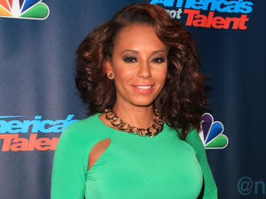 Melanie Brown 'America's Got Talent' post show red carpet at Radio City Music Hall