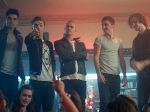 The Wanted in 'We Own The Night' video