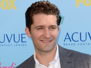 Matthew Morrison arriving at the Teen Choice Awards 2013